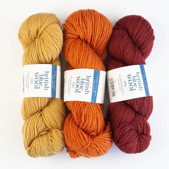 Erika Knight British Blue Wool 100g