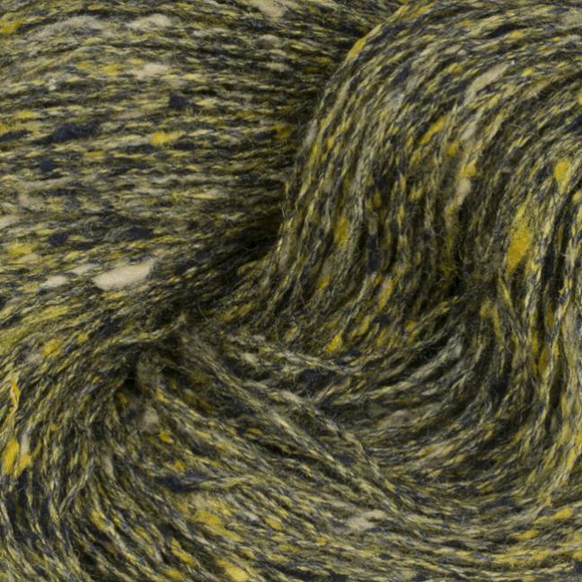 BC Garn Tussah Tweed on 800g-cones yellow-gold-mix