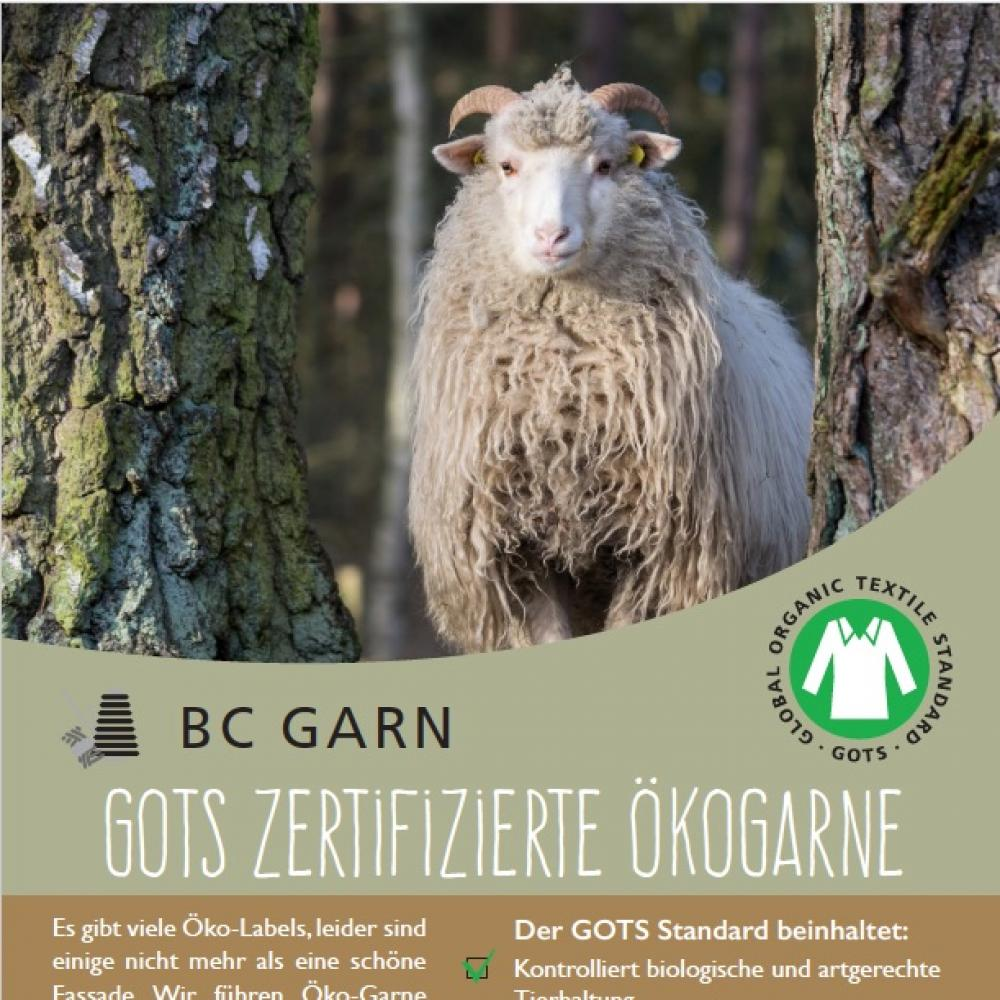 BC Garn GOTS Poster BC Garn