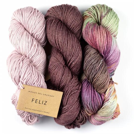 Manos del Uruguay Feliz Handgefärbt