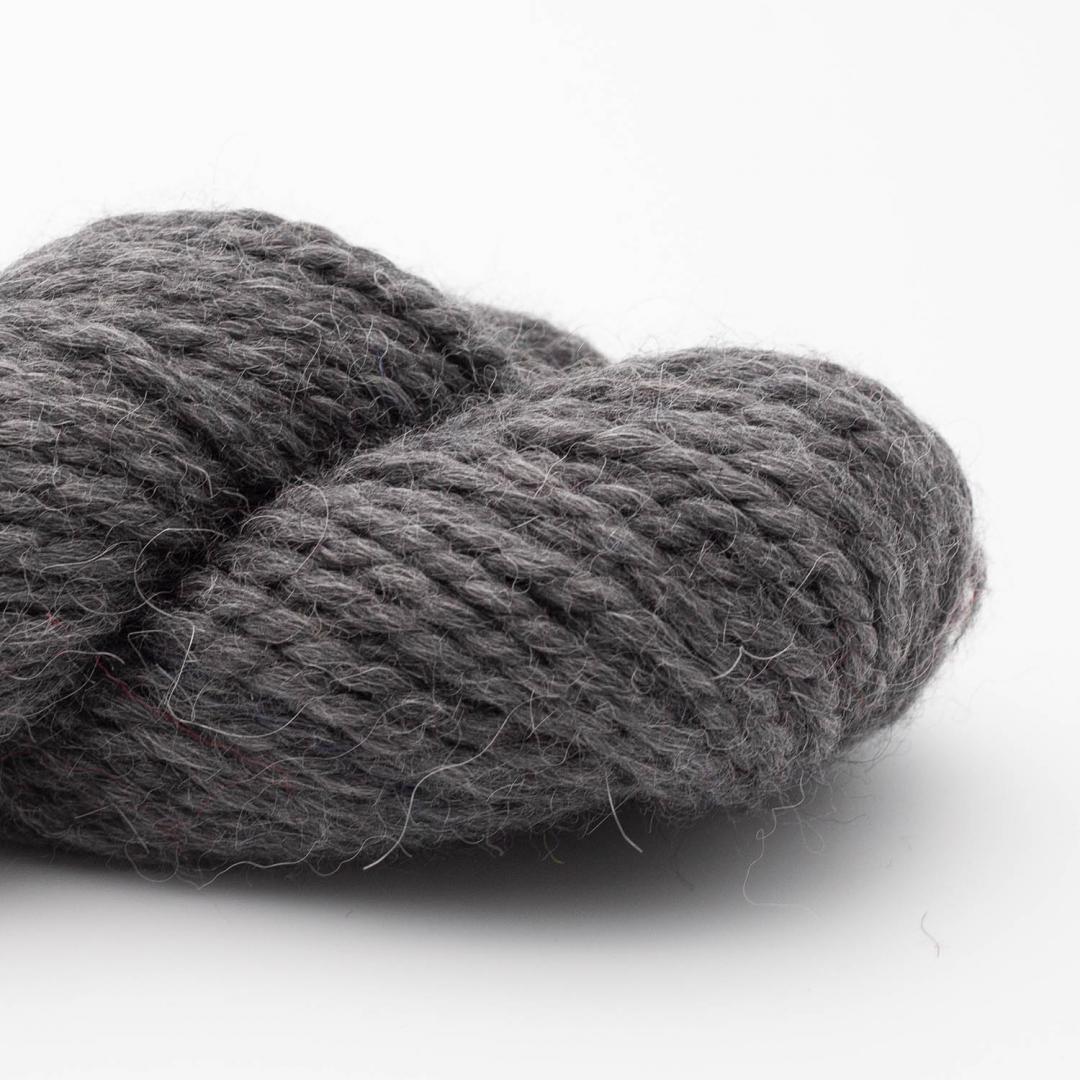 Kremke Soul Wool Llama Soft 100g Dark Grey Melange