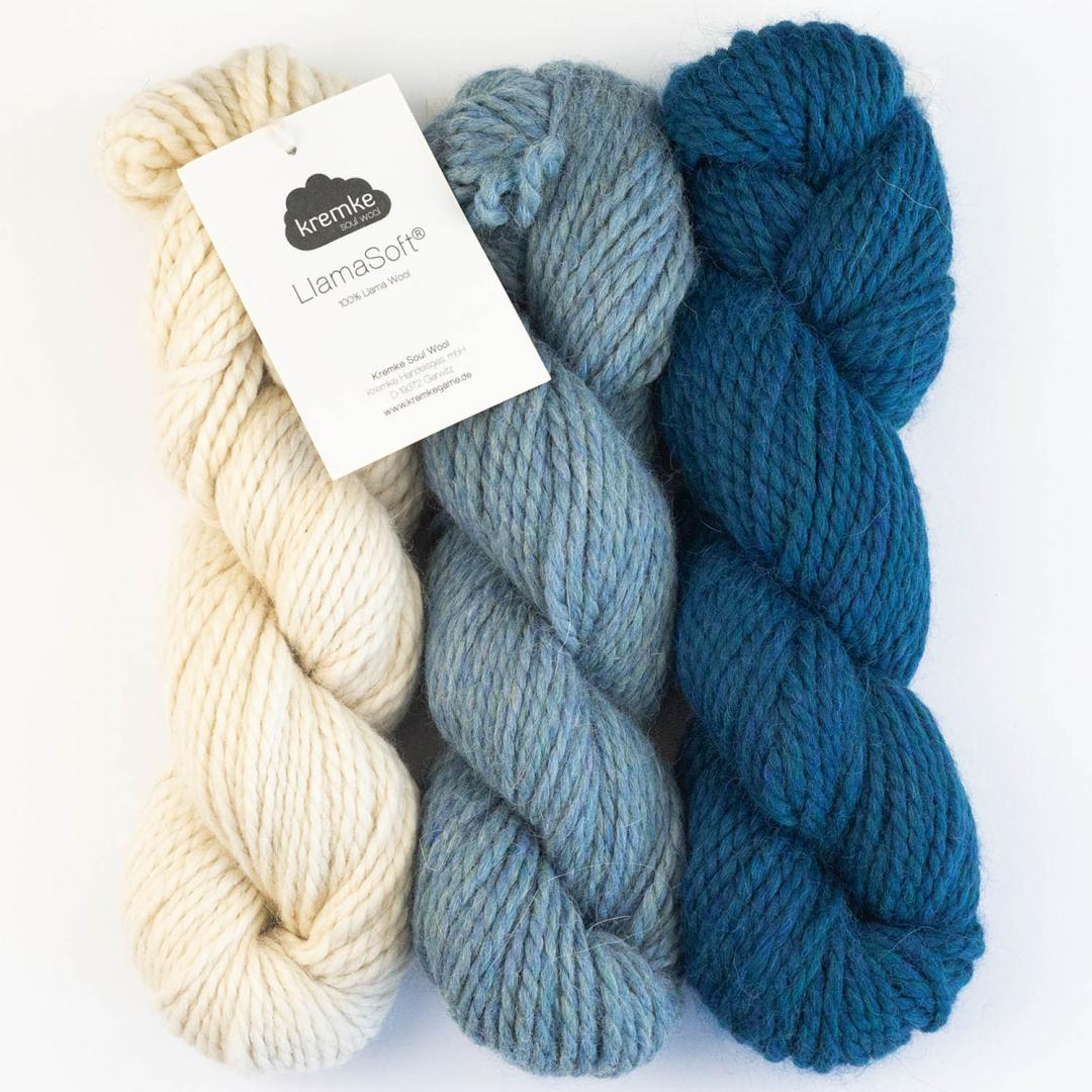 Kremke Soul Wool Llama Soft 100g  Natural White