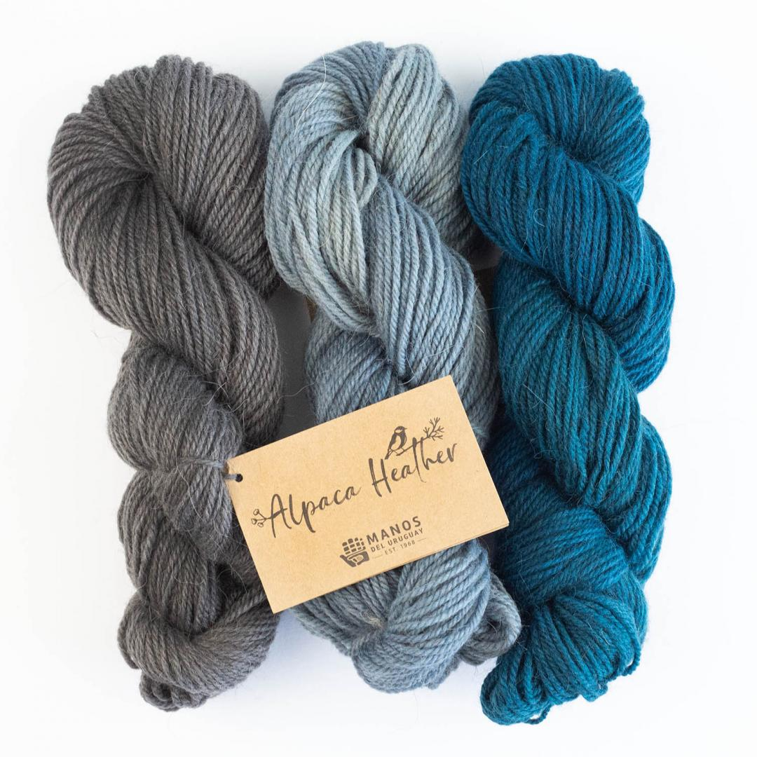 Manos del Uruguay Alpaca Heather Semi Solids