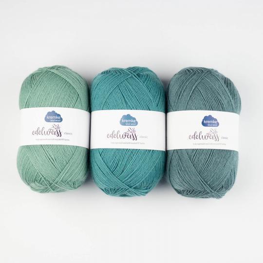 Kremke Soul Wool Edelweiss 4fach 100g