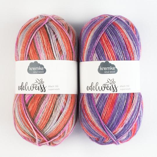 Kremke Soul Wool Edelweiss 6fach 150g