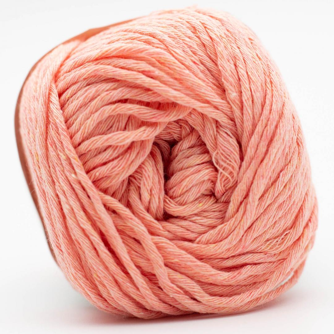 Kremke Soul Wool Karma Cotton recycled Salmon