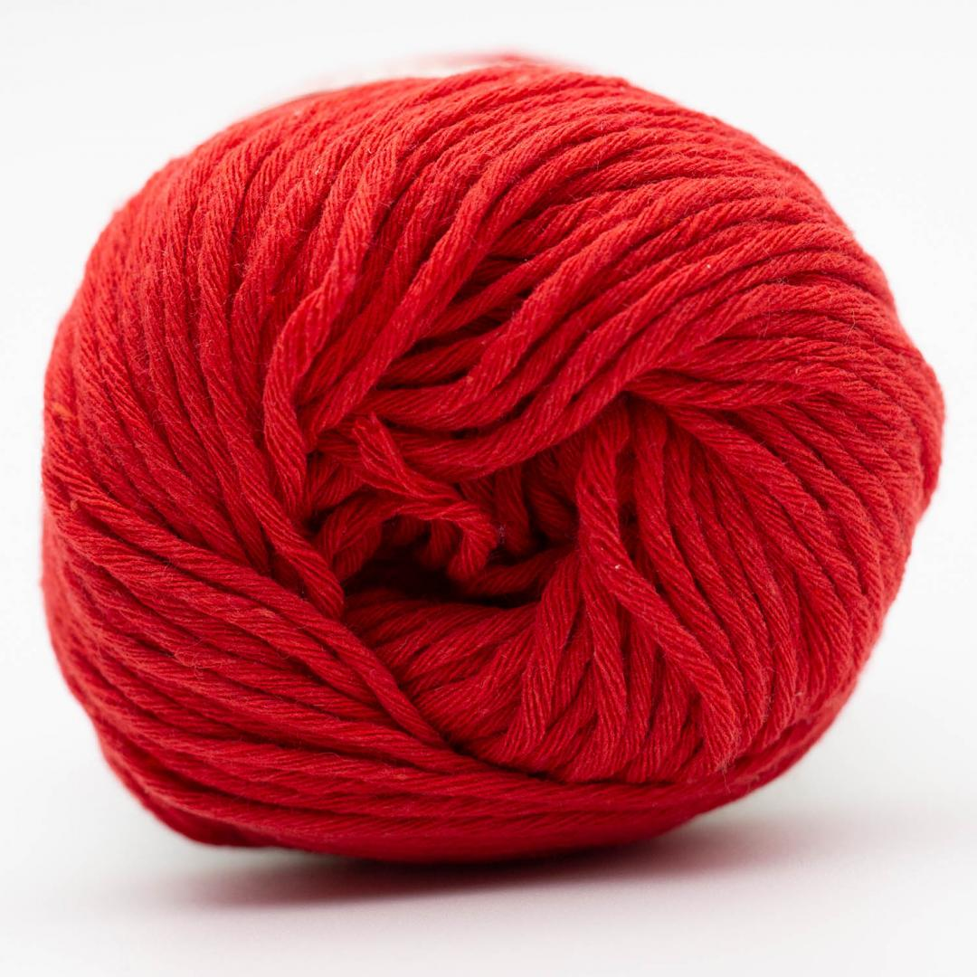 Kremke Soul Wool Karma Cotton recycled Cherry Red
