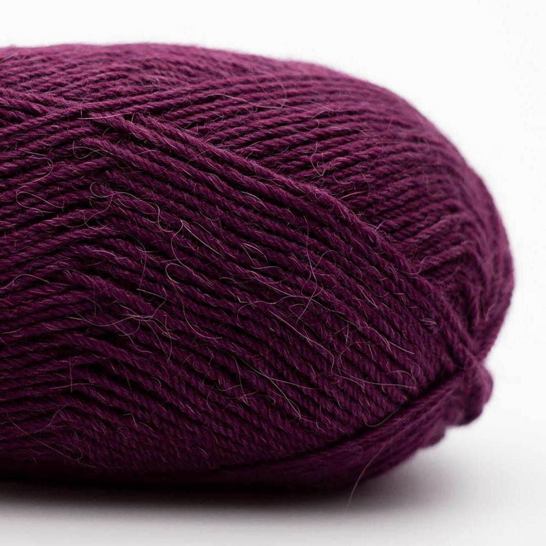 Kremke Soul Wool Edelweiss Alpaka 4-fach 25g Dunkelviolett