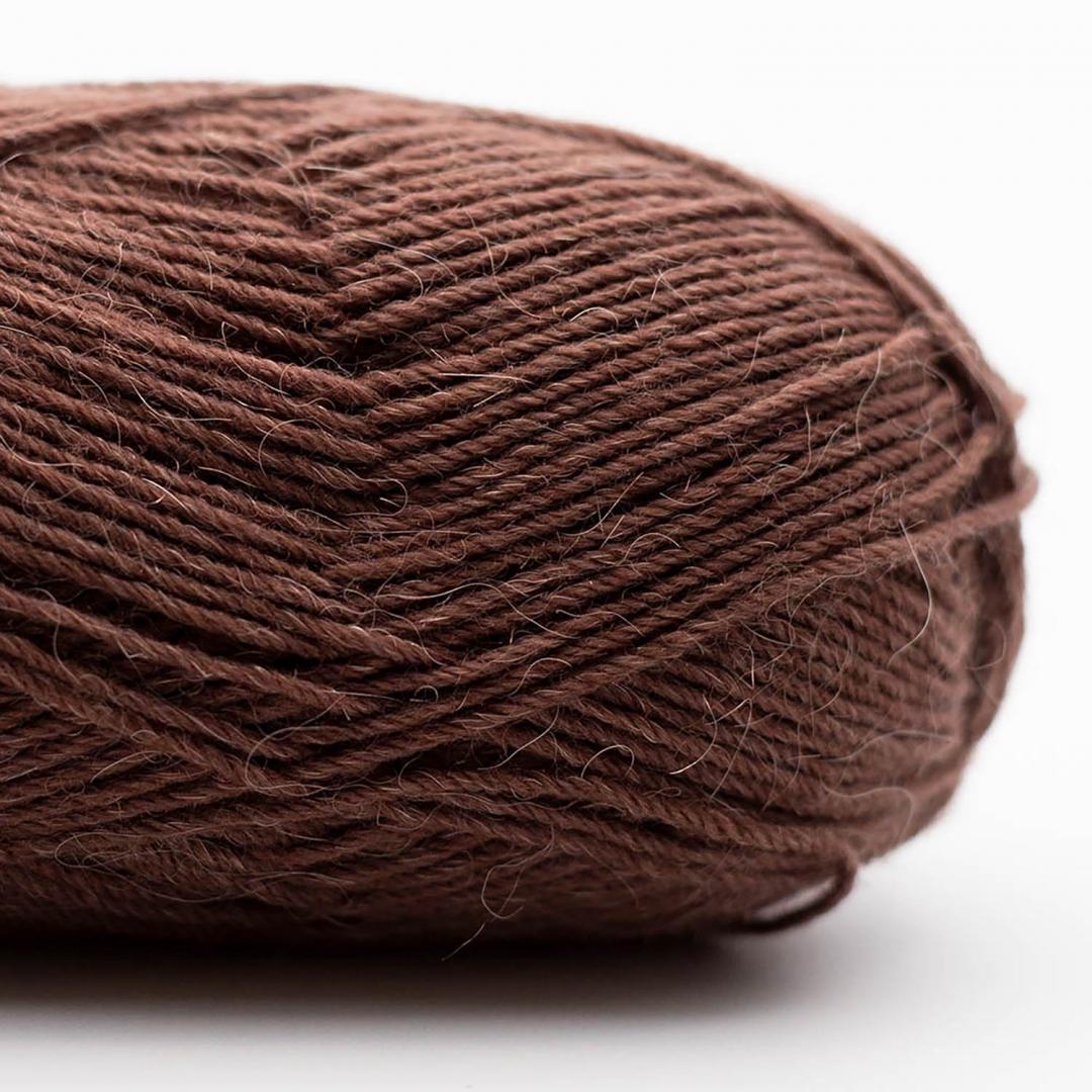 Kremke Soul Wool Edelweiss Alpaka 4-fach 25g Braun