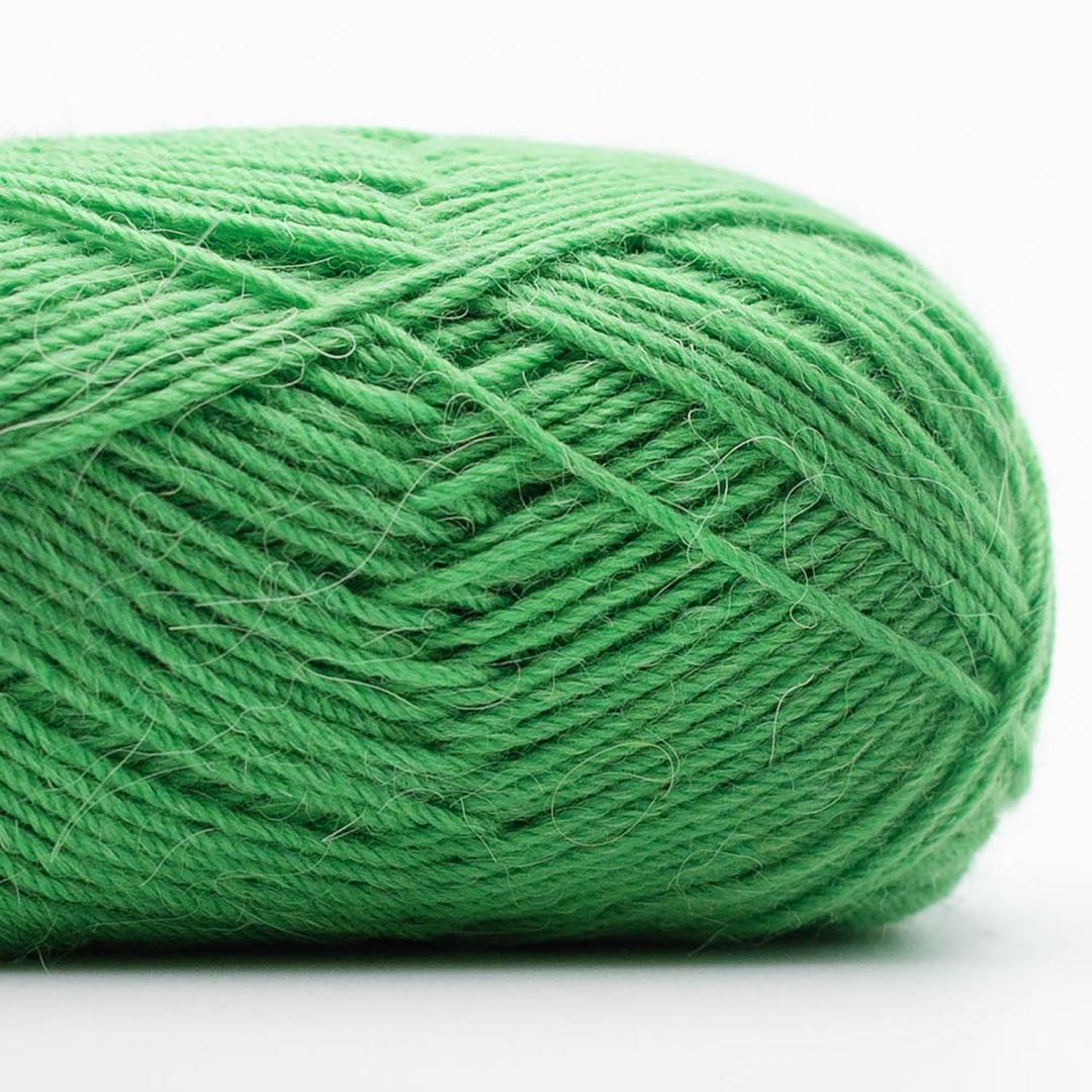Kremke Soul Wool Edelweiss Alpaka 4-fach 25g Stein-Grün