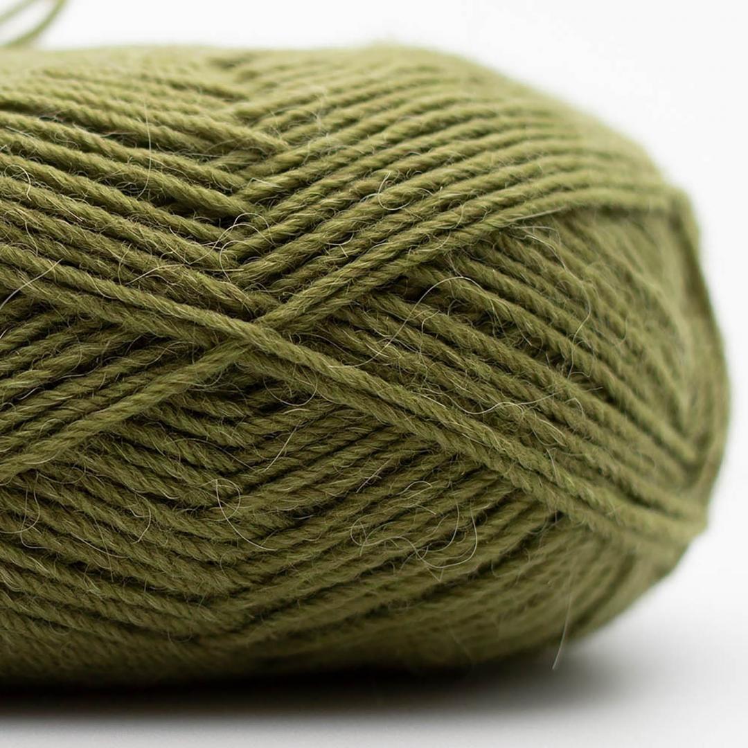 Kremke Soul Wool Edelweiss Alpaka 4-fach 25g Olivenzweig