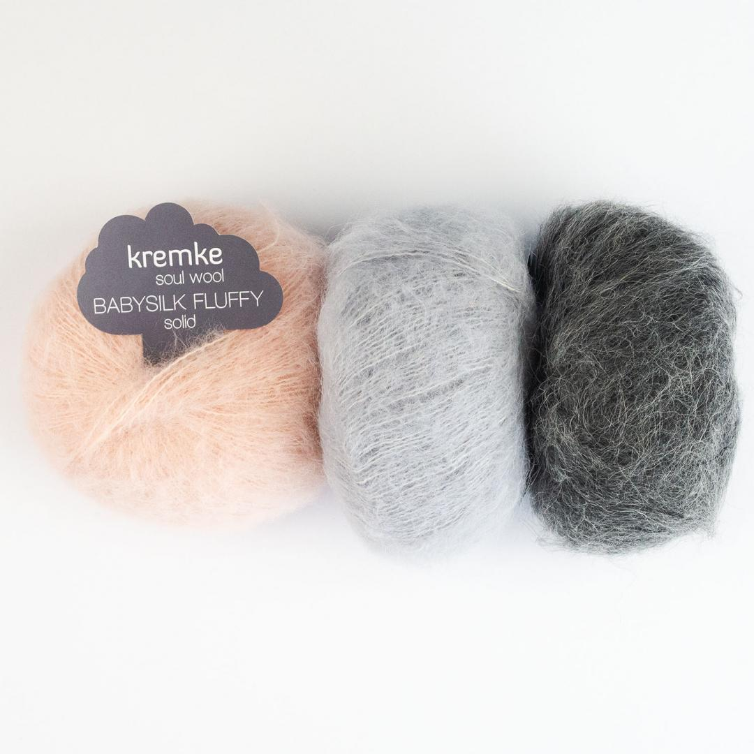 Kremke Soul Wool Baby Silk Fluffy solid