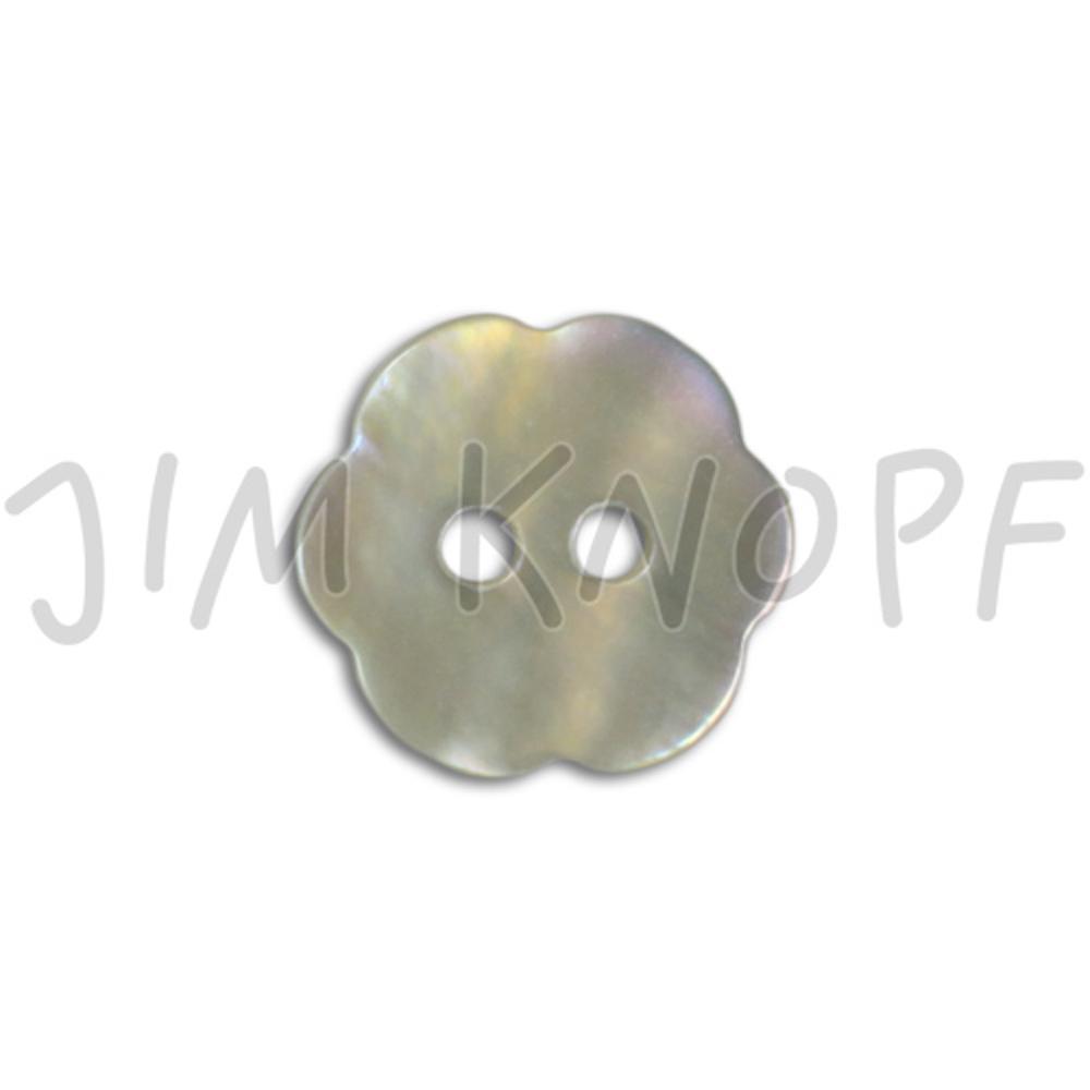 Jim Knopf Agoya shell button flower shape 11mm