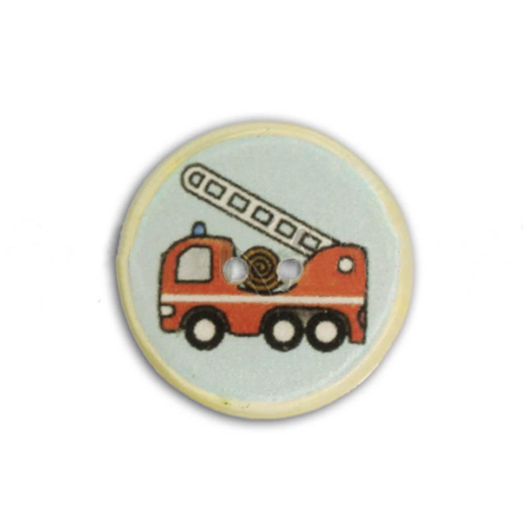 Jim Knopf Resin button for children 18mm
