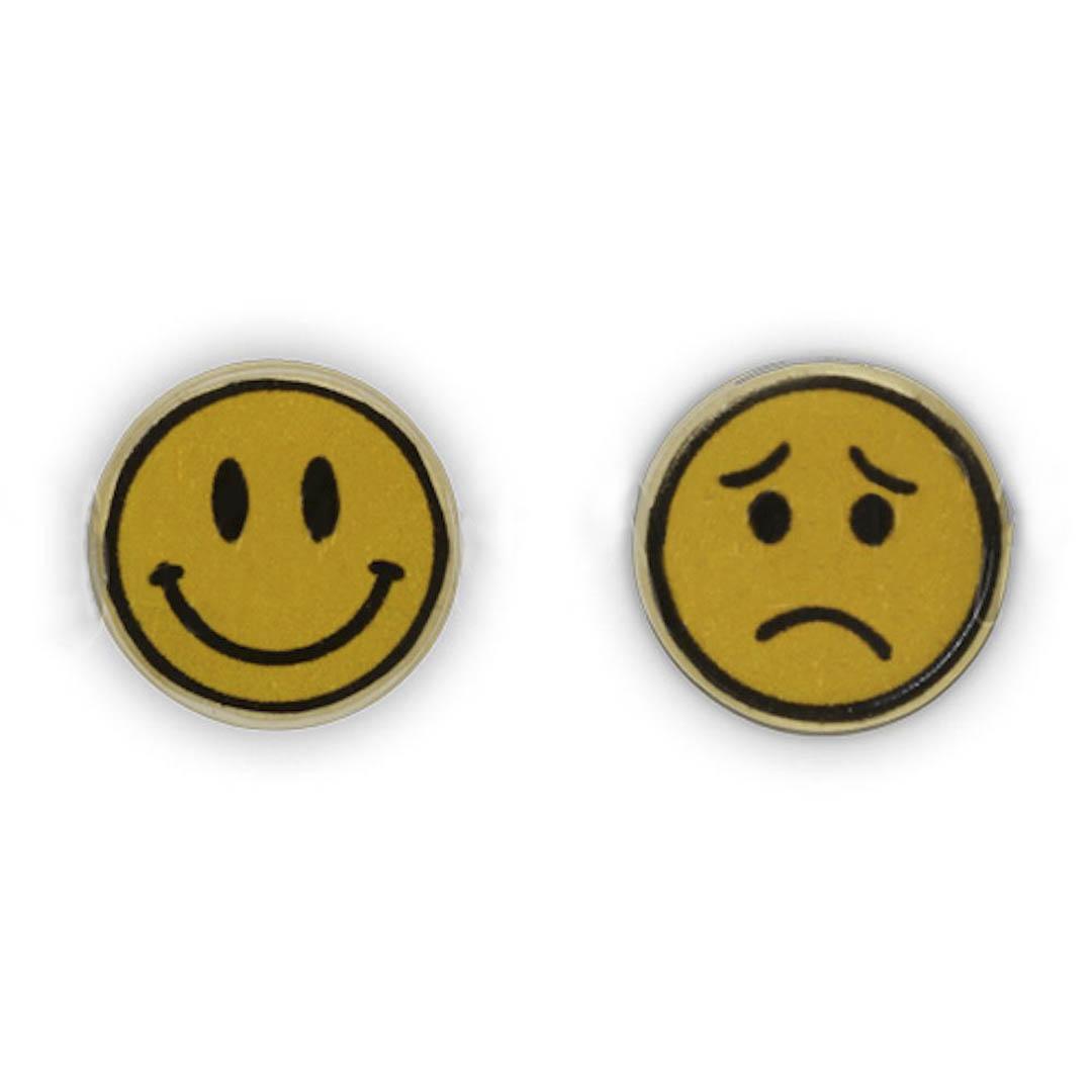 Jim Knopf Coco wood button smiley motiv 16mm