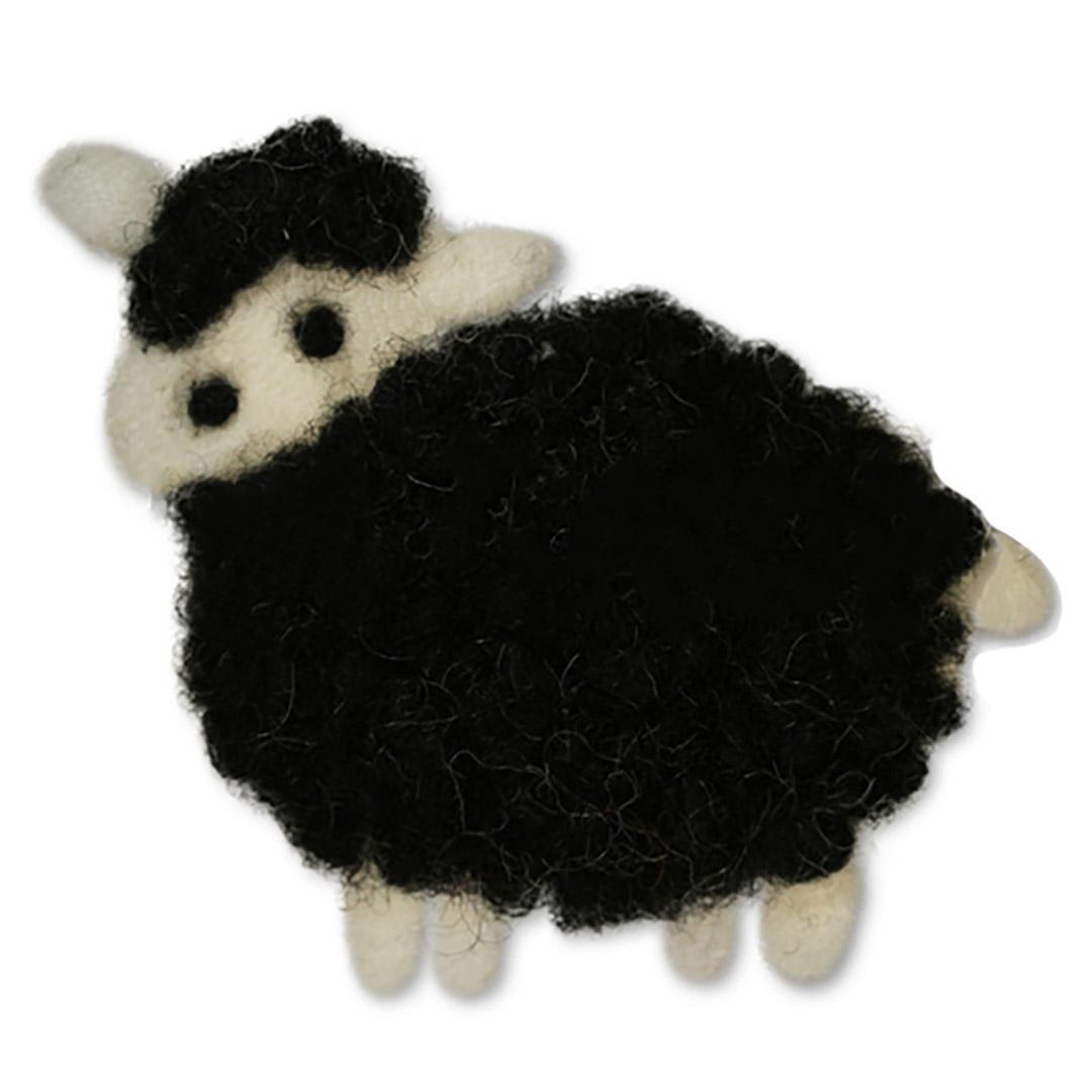 Jim Knopf Felted sheep motivs