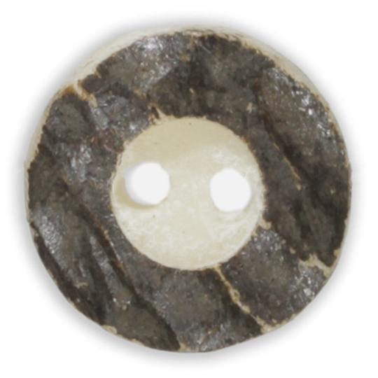 Jim Knopf Trachtenknopf Hirschhorn-Imitat 15 oder 23mm
