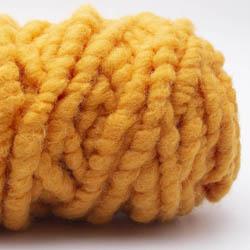 Kremke Soul Wool RUGby Teppichwolle gefärbt Orange