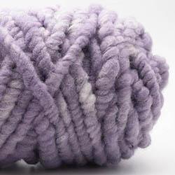 Kremke Soul Wool RUGby Teppichwolle gefärbt Blassflieder