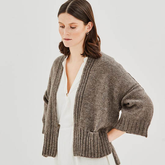 Erika Knight Anleitung FETTLE für Wool Local EK0001