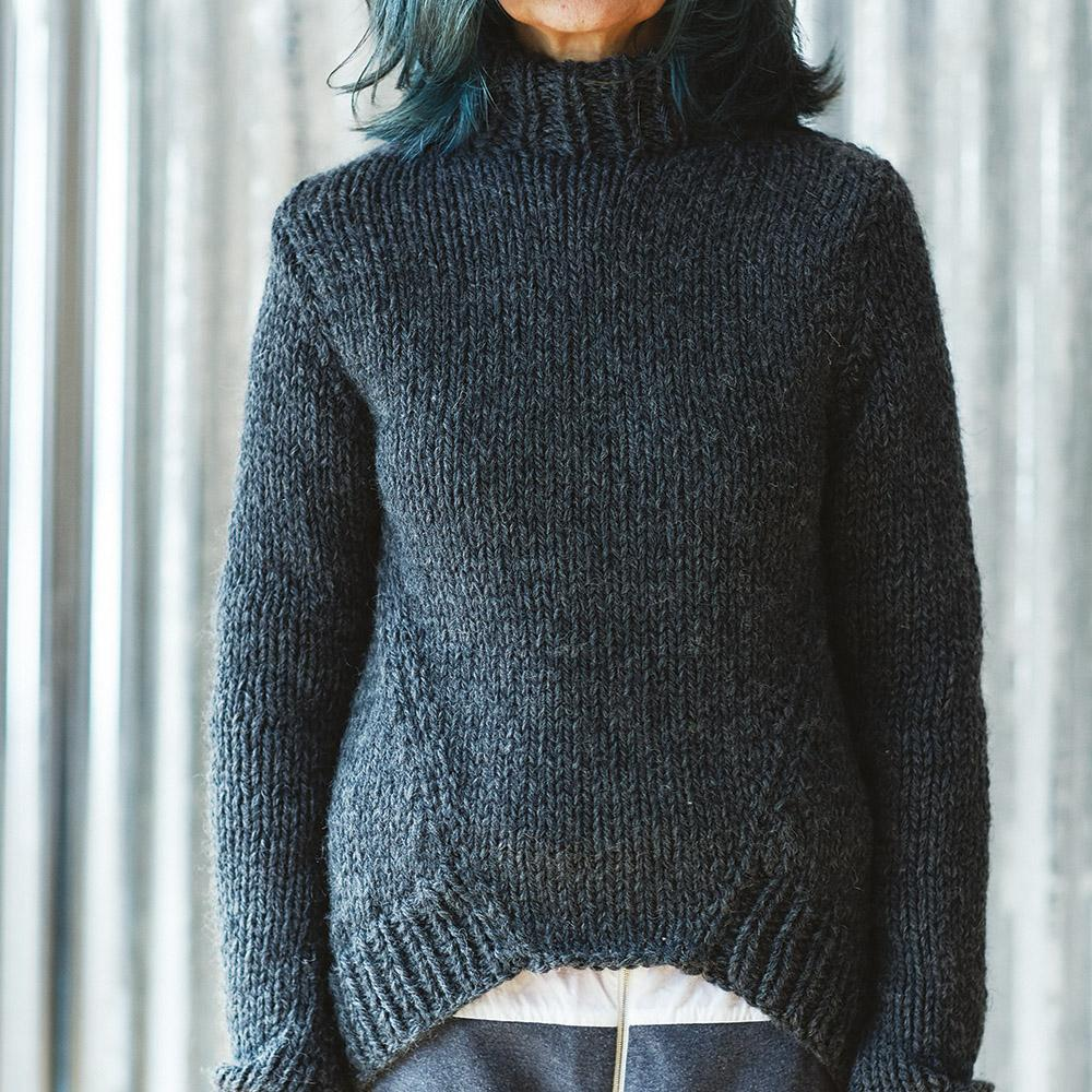 Erika Knight Pattern TUESDAY for Maxi Wool EK0010