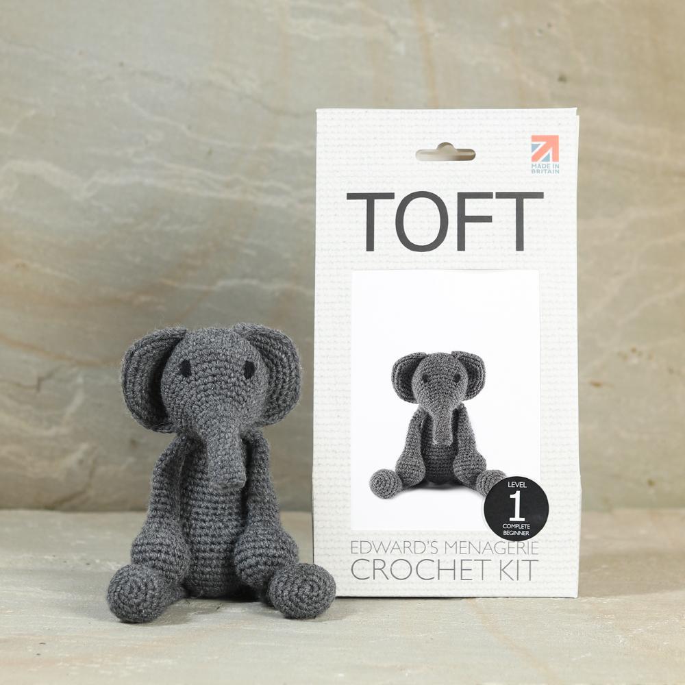 TOFT Bridget die Elefantin Häkelset