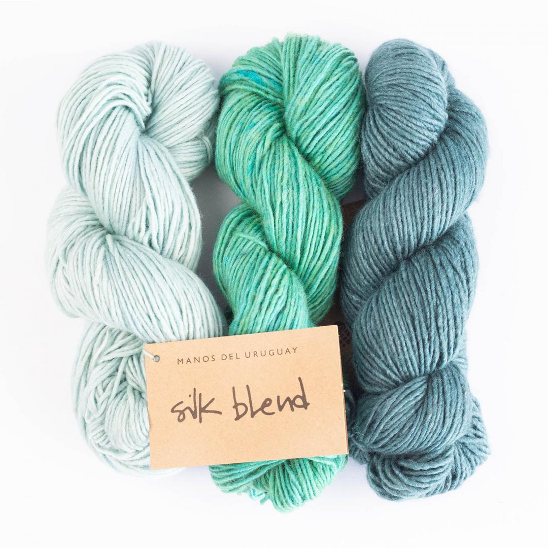 Manos del Uruguay Silk Blend - solid  Natural3014
