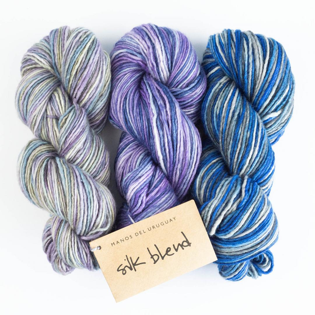 Manos del Uruguay Silk Blend Farbverlauf handgefärbt