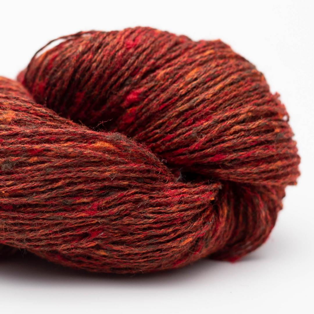 BC Garn Tussah Tweed brown-phantasie