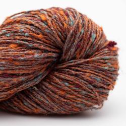 BC Garn Tussah Tweed rost-aqua-mix