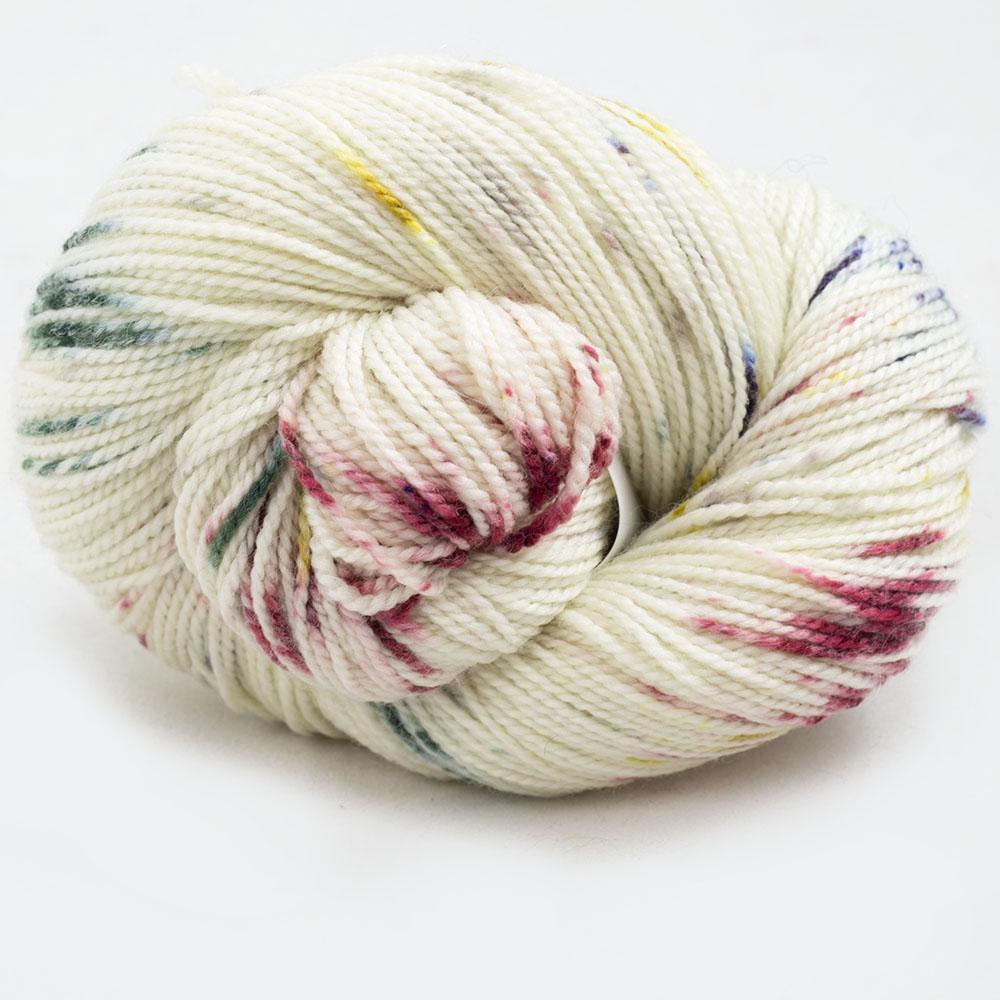 Cowgirl Blues Merino Sock Twist yarn - gradient  Tambourine Man