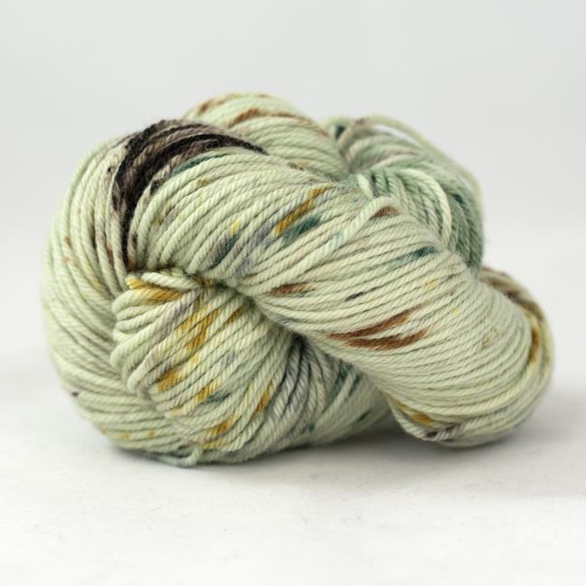 Cowgirl Blues Merino Sock Twist yarn - gradient Walk in the woods
