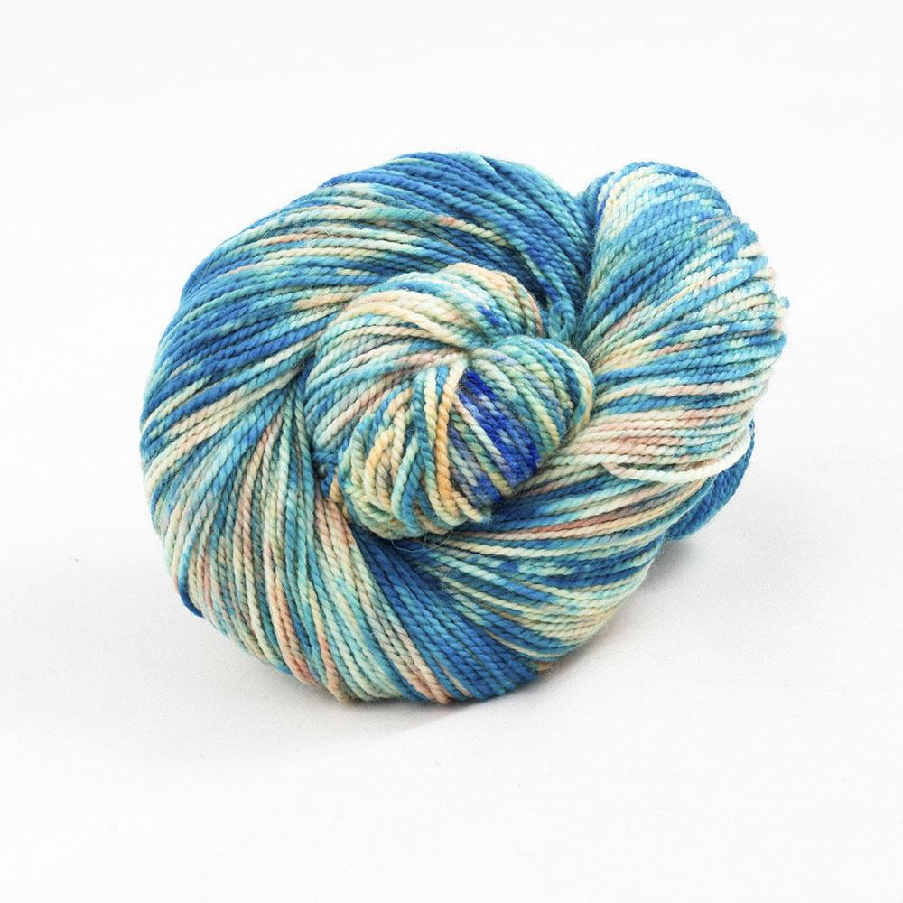 Cowgirl Blues Merino Twist Yarn gradient Shorebreak