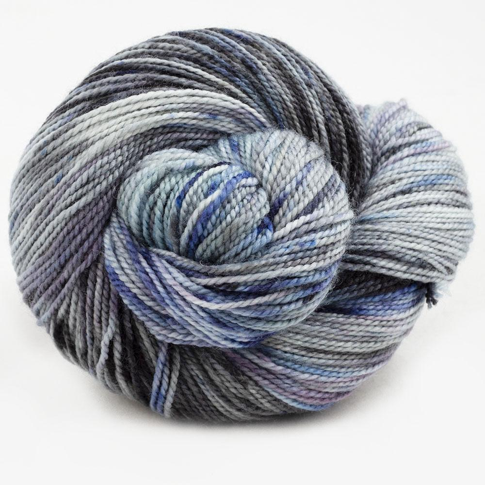 Cowgirl Blues Merino Twist Yarn gradient Moody Blues