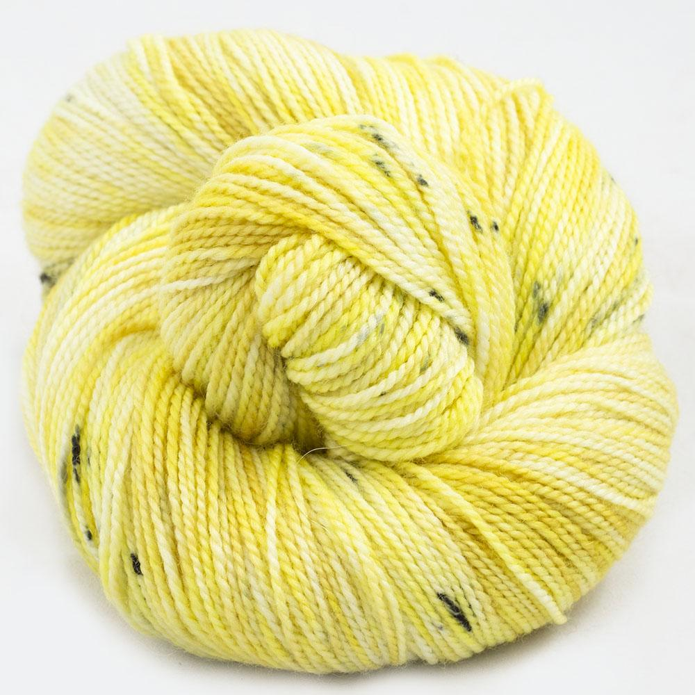 Cowgirl Blues Merino Twist Yarn gradient Limoncello
