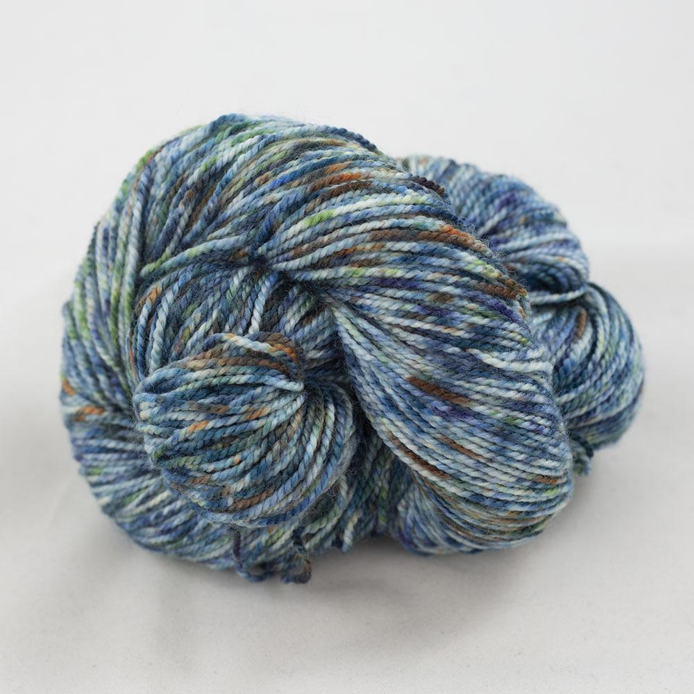 Cowgirl Blues Merino Twist Yarn gradient 9 to 5