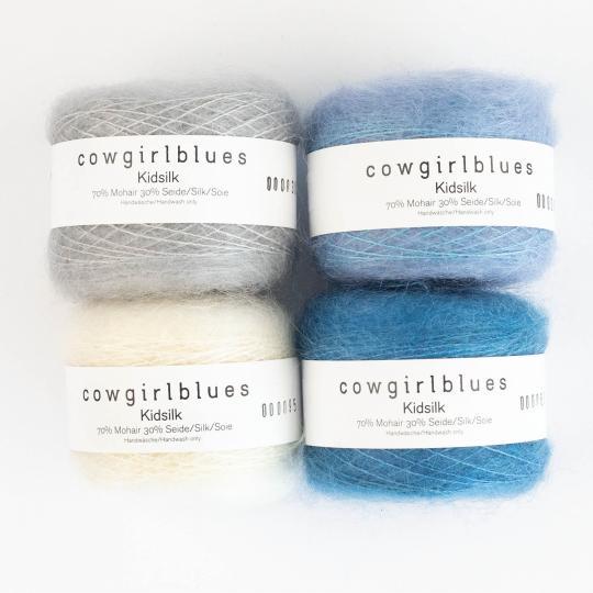 Cowgirl Blues KidSilk solids