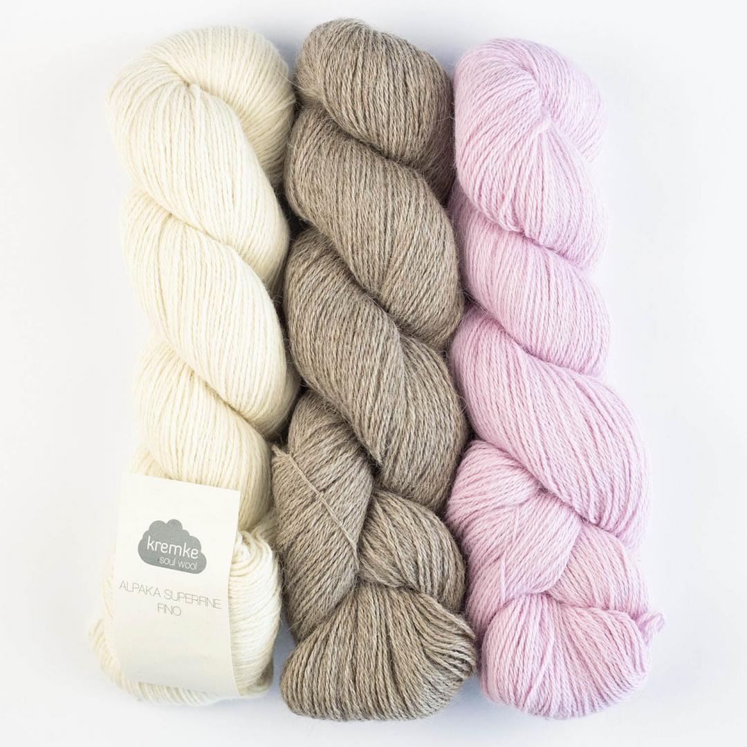 Kremke Soul Wool Alpaka Superfine Fino 100g