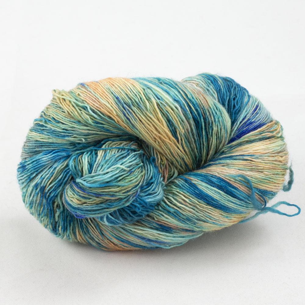 Cowgirl Blues Merino Single Lace gradient Shorebreak