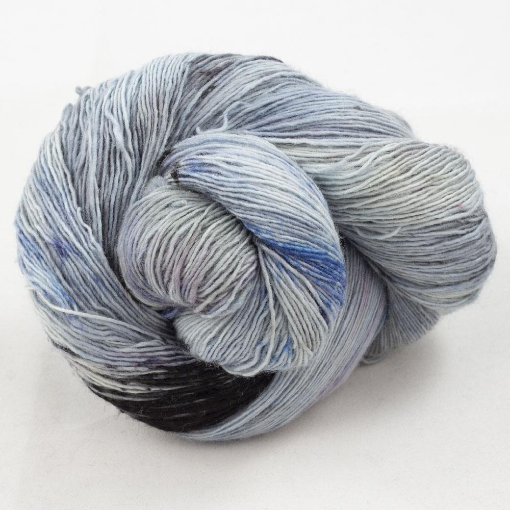 Cowgirl Blues Merino Single Lace gradient Moody Blues