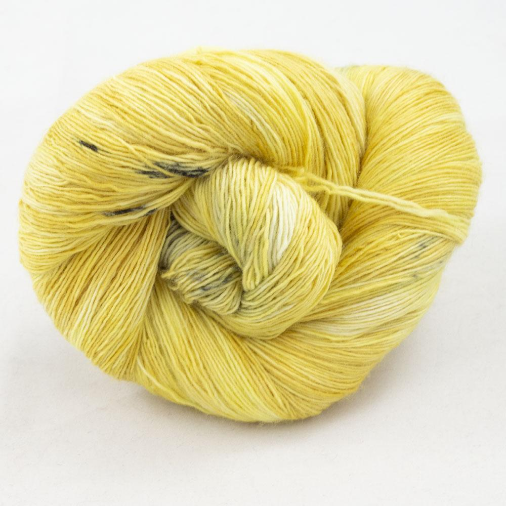 Cowgirl Blues Merino Single Lace gradient Limoncello