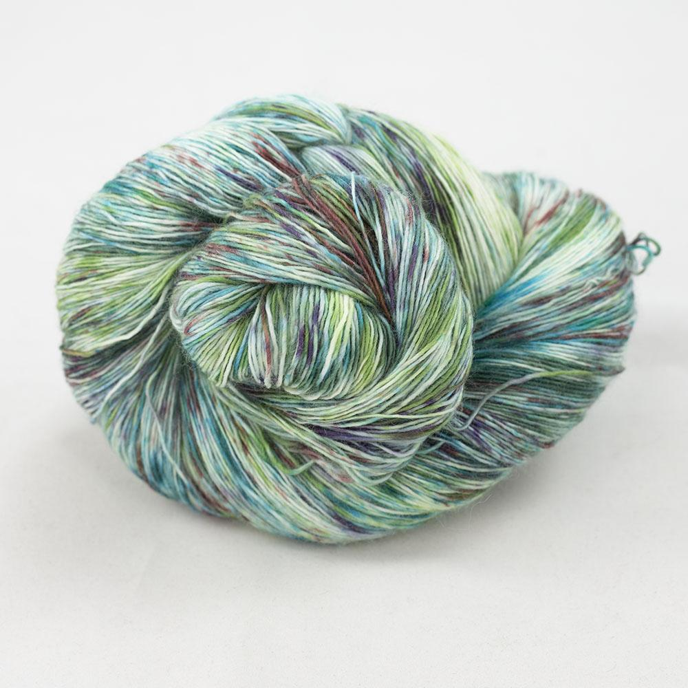 Cowgirl Blues Merino Single Lace gradient Karma Chameleon
