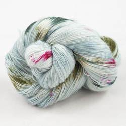 Cowgirl Blues Merino Single Lace Farbverlauf Signs of Spring